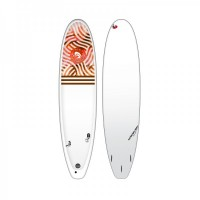 Planche de surf Surfactory Malibu 7'4 (Swell Rouge)