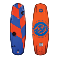 Planche de wake Obrien Format 137 (Planche seule)