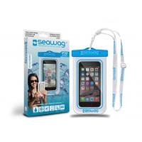 Pochette étanche Seawag pour smartphone (Blanc/Bleu W2x)
