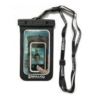 Pochette étanche Seawag pour smartphone (Noir/Blanc B1x)