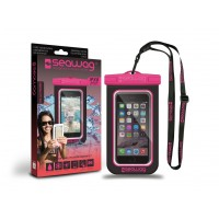 Pochette étanche Seawag pour smartphone (Noir/Rose B3)