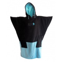 Poncho All-in V3 (Noir/Bleu)