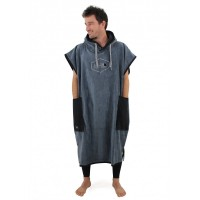 Poncho All-in Classic Bumpy (charcoal / black)