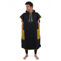 Poncho All-in Light Waffle (black Ocre)