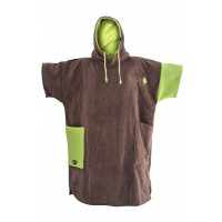 Poncho All-in Classic Bumpy (Brown/anis)