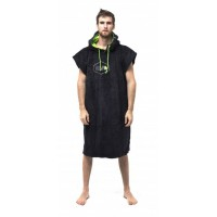 Poncho All-in Classic (Black/Green)