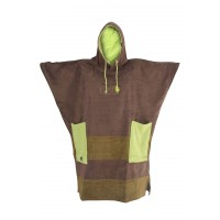 Poncho All-in Vorg (Brown/anis)
