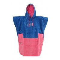 Poncho Baby Little Dragon (Blue/pink)