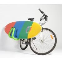 Racks porte surf Vélo (Shortboard/Fish/egg)