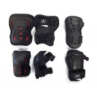 Protection skate et roller SFR Essentials Triple Pad Set (L)