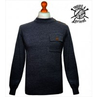 Pull en laine Palam Gaspard (Bleu marine)