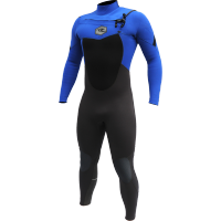 Combinaison de surf Alder Reflex 5/4/3 Chest-Zip (Bleu)