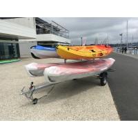Remorque de route 4 kayaks