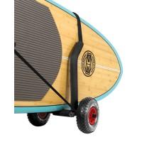 Chariot de transport pour SUP, Paddle et surf réglable (roues gonflables)