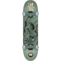Skate Cartel 7.8 Calavera (Metal Green)
