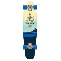 Mini-Longskate Prohibition Retro Wood Seaview