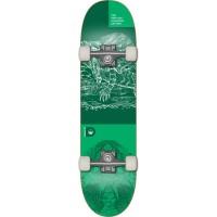 Skate Demented Reptilian Green