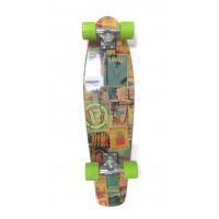 Mini-Longskate Prohibition Retro Wood Hawaii