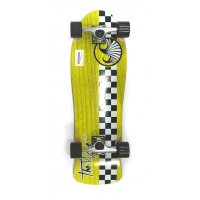 Skate The Wave Checker 30 (Jaune)