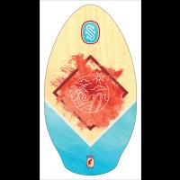 Skim en bois Sk1m One Wailuku Red/Teal 37