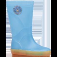 Bottes enfant Méduse Skippy bleu fluo