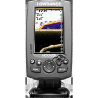 Sondeur/GPS pour kayak Lowrance HOOK-4x CHIRP + Sonde 83/200/455/800 kHz