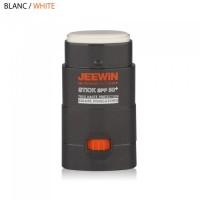 Stick Solaire Visage et lèvres Jeewin Spf50+ (Blanc)