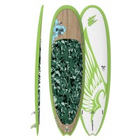 SUP de surf Exocet Fish Nose Rider 9'6 (Bamboo)
