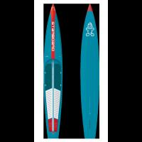 Planche de paddle race Starboard Sprint 14 x 23.5 Wood Carbon 2021