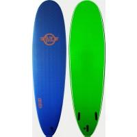 Planche de surf en mousse Surfworx Ribeye malibu 8'0 (Bleu)