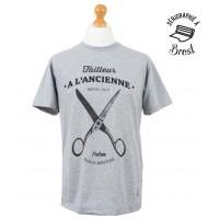 T-Shirt Palam A l'ancienne (Gris)