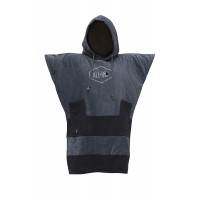 Poncho All in Junior Little Dragon (Charcoal/black)