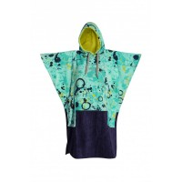 Poncho All-in V Bumpy (Blue Paint)