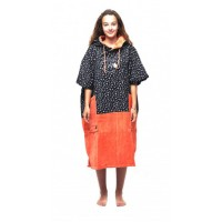 Poncho All-in V Flash (Orange/Print)