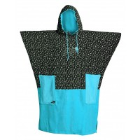 Poncho All-in V Flash (Turquoise/Print)