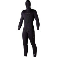 Combinaison Seac Python + Black (Veste 7mm + pantalon 5mm)
