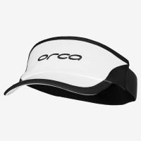Visière flexible Orca pour le triathlon (Blanc/Noir)