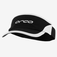 Visière flexible Orca pour le triathlon (Noir/Blanc)
