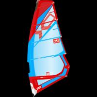 Voile XO Sails EOL (5.5 m ²) 2019 (Bleu/Rouge)