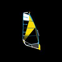 Voile Naish Sprint 2019 (Noir/Bleu/Jaune)