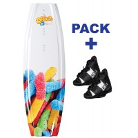 Pack Wake Obrien Gigi 124 + Clutch Jr (32-37)