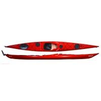 Kayak Zegul Reval Mv 3l Rud+skeg Red