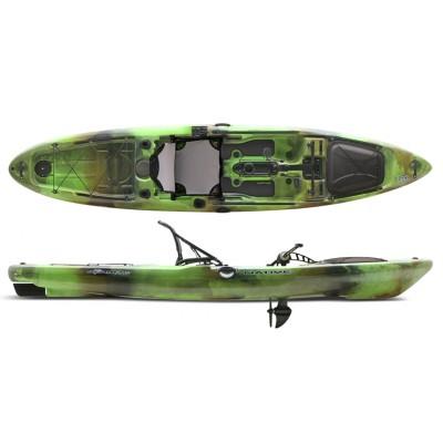 Kayak à pédales de pêche Native Slayer Propel 13' (Lizard Lick - Vert)