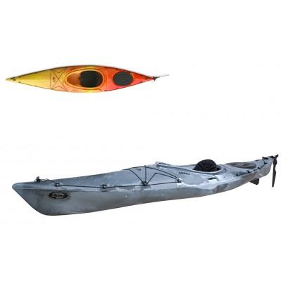 Kayak DAG Mezzo SK Hi-Luxe (avec gouvernail et dérive)