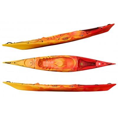 Kayak RTM Disco + (Couleur Soleil : Jaune et Orange)