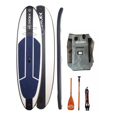 Paddle gonflable Sroka Pack Easy 10'6 + leash + pagaie