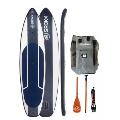 Paddle gonflable Sroka Pack Easy 11'6 + leash + pagaie