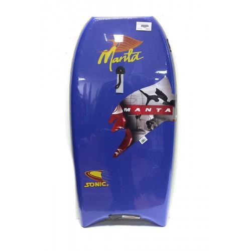 Body Manta Sonic EPS 38 (Bleu foncé) + Leash
