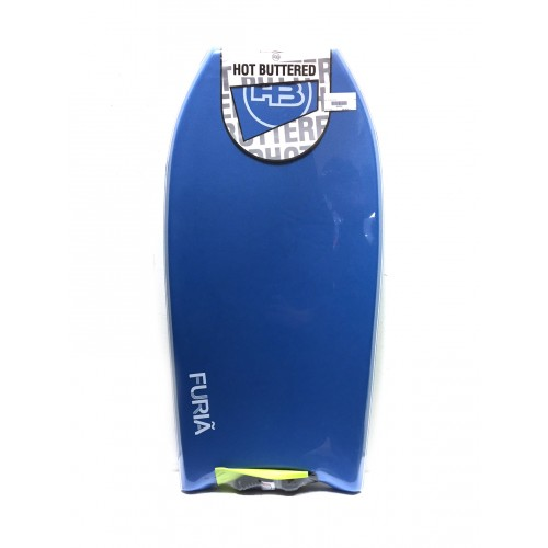 Bodyboard HB Hot Buttered Furia 36 EPS (Bleu) + Leash