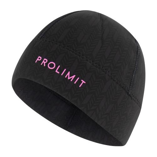 Bonnet en néoprène Prolimit Pure (Black/Pink)